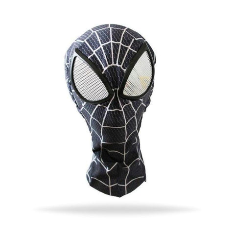 MASQUE DE SPIDERMAN NOIR