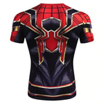 T Shirt Compression <br> Iron Spider