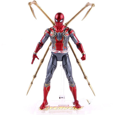 figurine spiderman iron spider