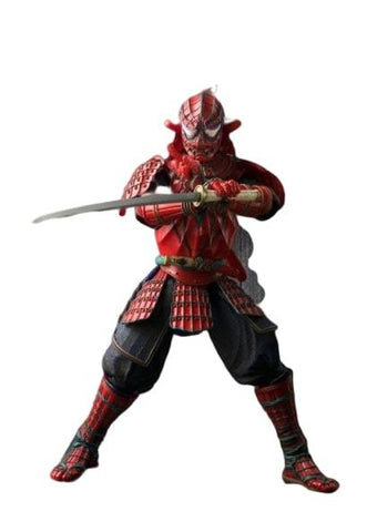 figurine spiderman samurai rouge
