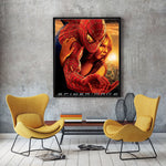 poster de spiderman 2 peter mary jane