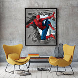 poster de spiderman 3D