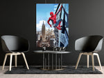 poster de spiderman empire state building