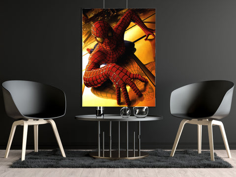 poster de spiderman le film