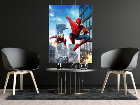 Poster SpiderMan <br> Iron Man