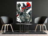 poster de spiderman rhino