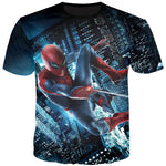 T Shirt The Amazing Spider Man Nuit - SpiderShopi