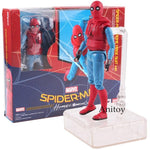 coffret figurine spiderman homecoming