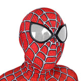 le masque de spiderman rouge
