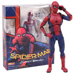 Figurine SpiderMan <br> Articulée Homecoming