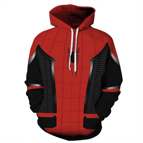 Sweat Spiderman <br> Far From Home
