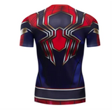 T Shirt Compression <br> Iron Spiderman