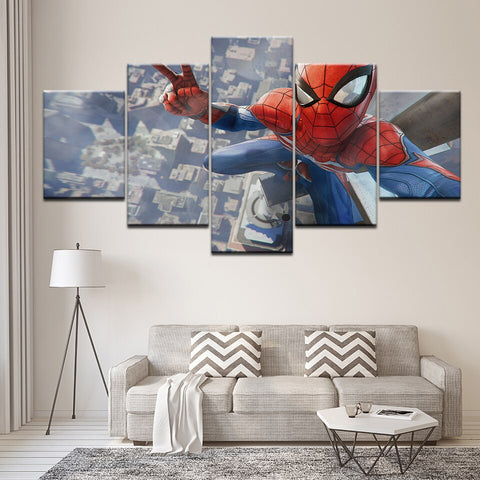 tableau de spiderman ps4 en 5 piece