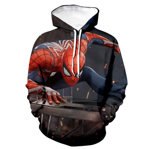Sweat Spiderman Playstation 4