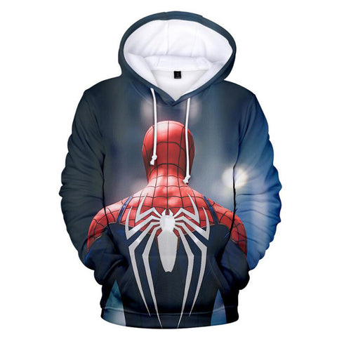 Sweat Spiderman Costume Avancé