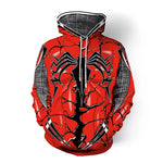 Sweat Spiderman Design Rouge