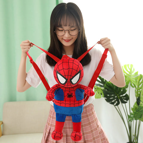 cartable spiderman peluche