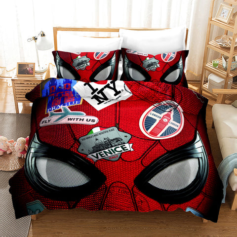 housse de couette de spiderman far from home