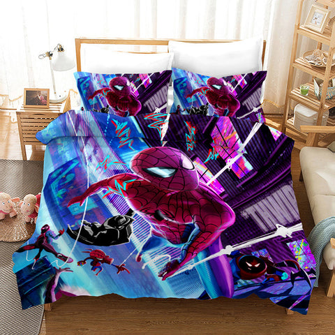Housse de Couette Spiderman Multiverse