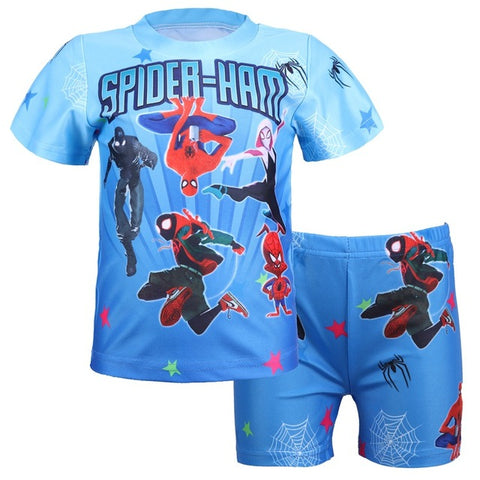 Slip de bain et t-shirt Spiderman