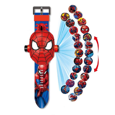 Montre Spider Man projection