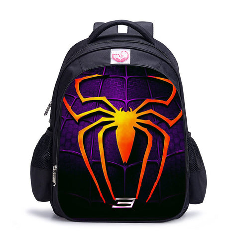 Cartable Spiderman Violet