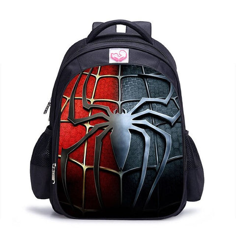 Cartable Spiderman Araignée Rouge