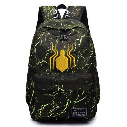 Sac à dos Spiderman Jaune