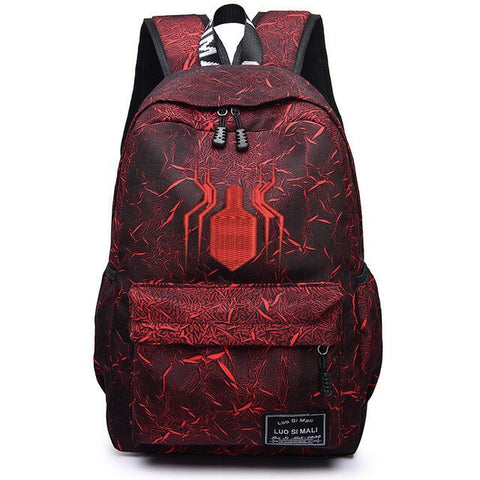 Sac à dos Spiderman Rouge