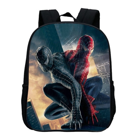 Sac à Dos Spider Man Rouge vs Noir - SpiderShopi