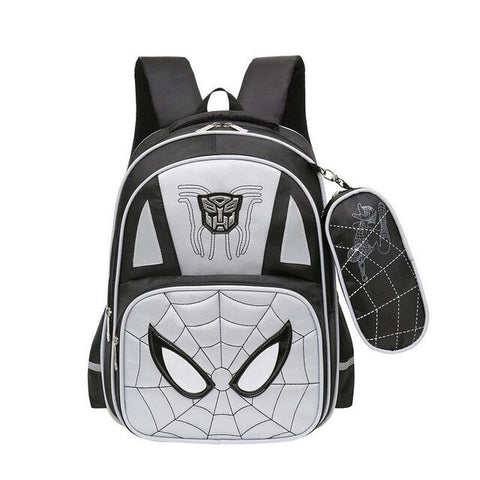 cartable de spiderman 3 noir