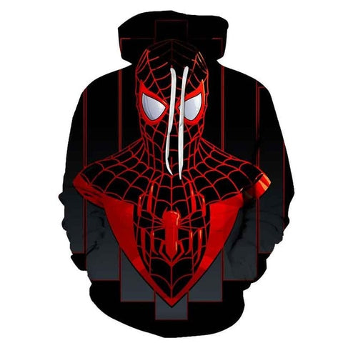 sweat spiderman miles morales