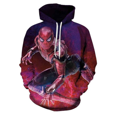 sweat spiderman infinity war