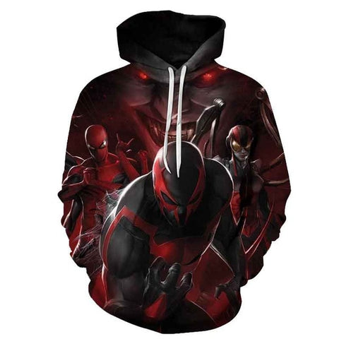sweat spiderman adulte