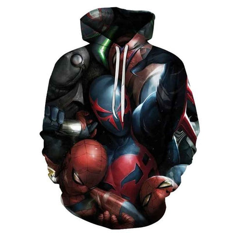 Sweat Spiderman <br> Spider Verse