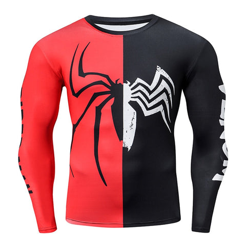 t shirt de musculation venom spiderman