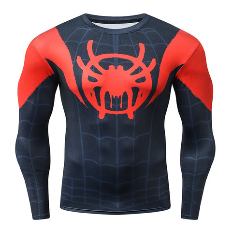T SHIRT DE MUSCULATION COMPRESSION SPIDERMAN NEW GENERATION