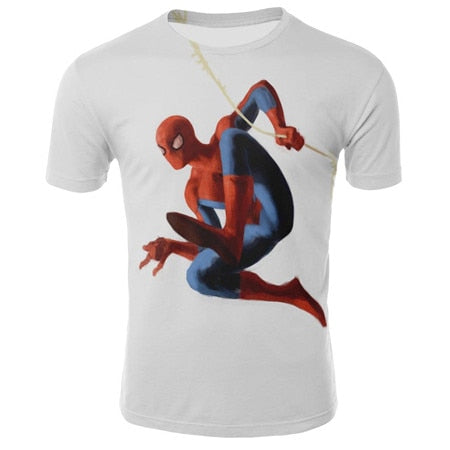 T-Shirt Spider Man <br> Design - SpiderShopi