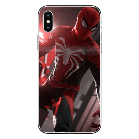 Coque Spider Man Iphone PS4