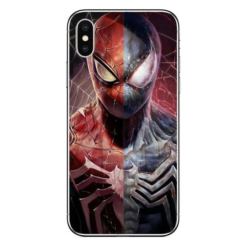 Coque Spider Man Iphone Spidy vs Venom
