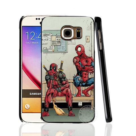 Coque Samsung Spider Man & Deadpool - SpiderShopi