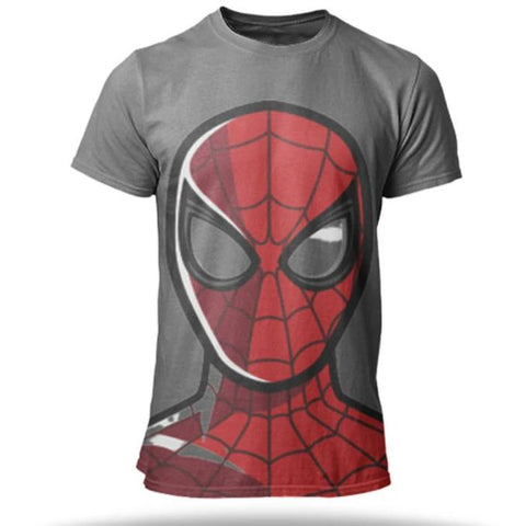 T Shirt SpiderMan <br> Design
