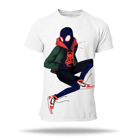 t shirt spiderman nike