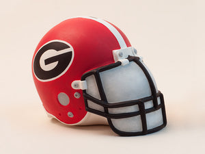 UGA football helmet coin bank