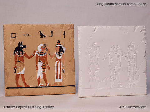 Paint Your Own Egyptian Tile Replica