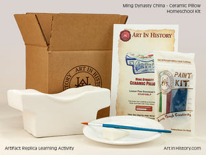 Paint Your Own Ming Dynasty Pillow
