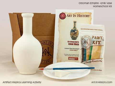 Paint Your Own Ottoman Empire Vase
