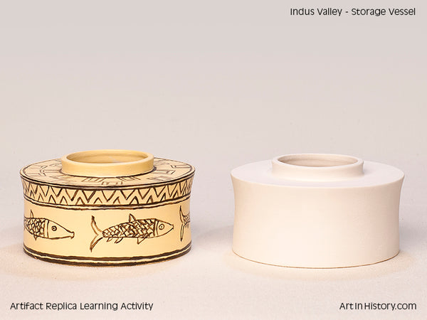 Paint Your Own Indus Valley Jar Replica