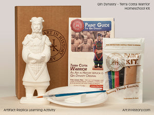 Paint Your Own Terra Cotta Warrior Replica