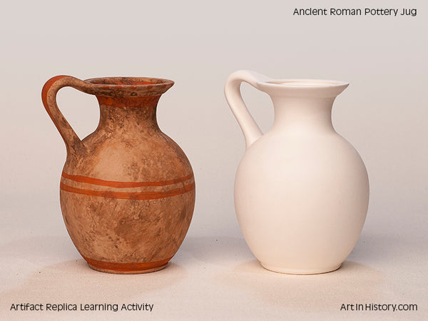 Paint Your Own Roman Jug Replica